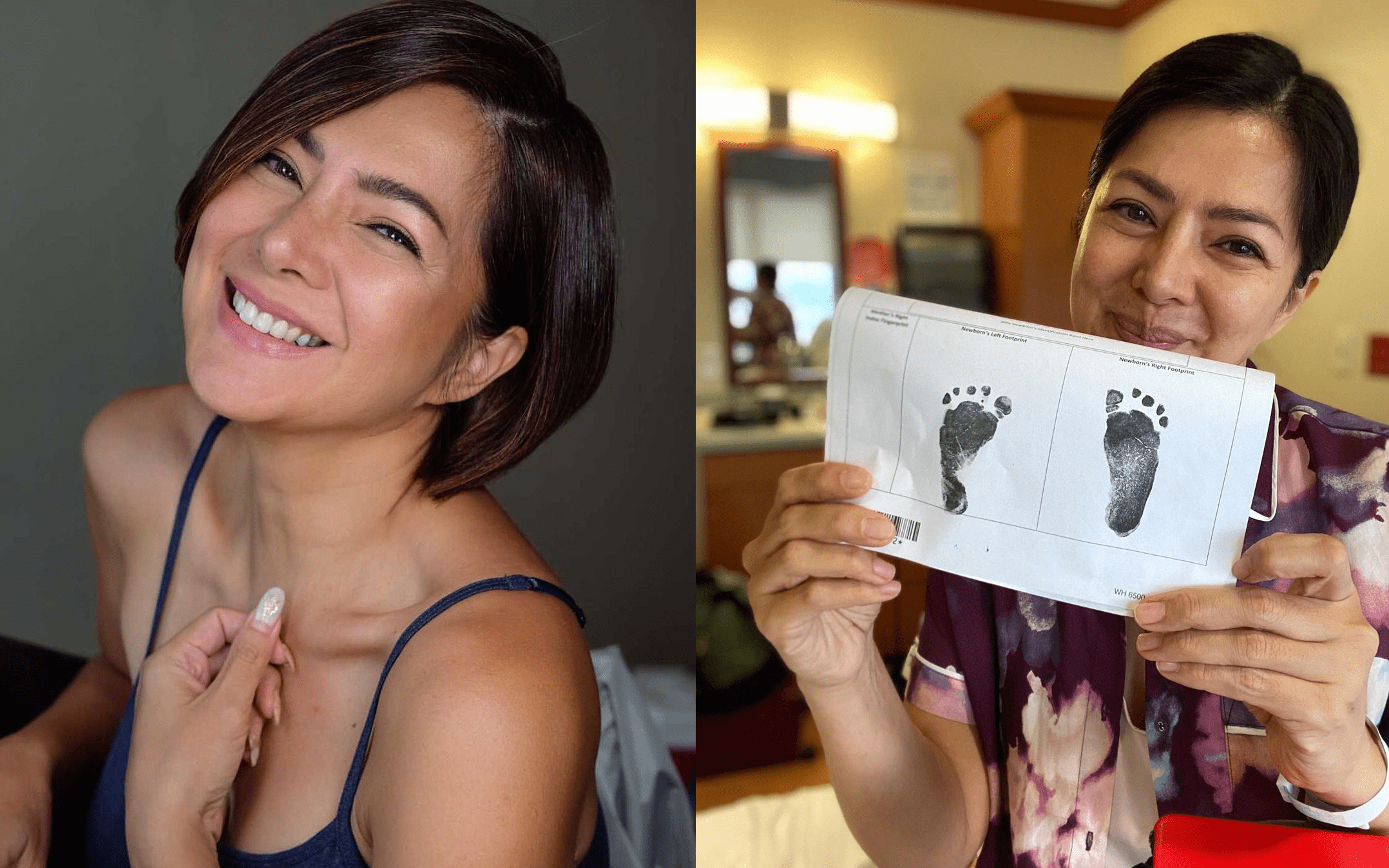 Alice Dixson back home in the Philippines with her baby