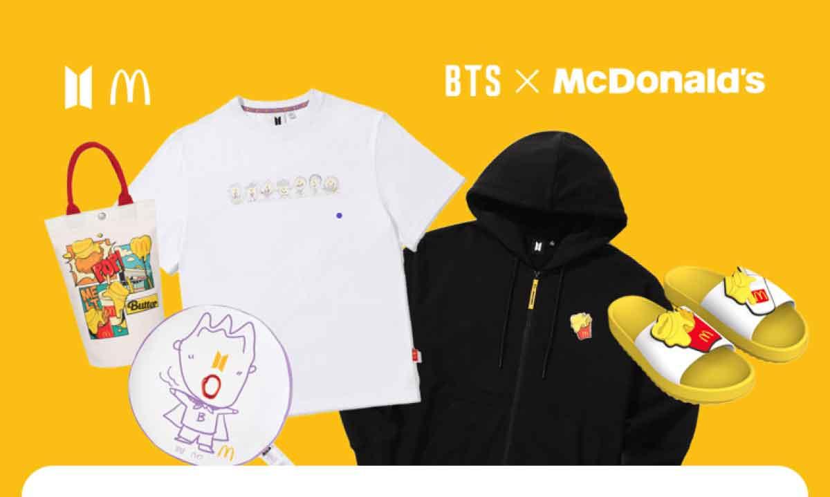 FreebieMNL - BTS x McDonald's Drops Second Merch Collection