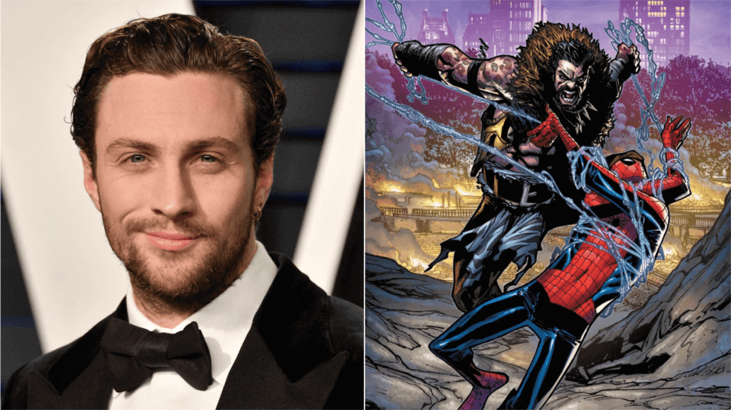 Aaron Taylor-Johnson joins Spider-Man spin-off movie as Kraven the Hunter