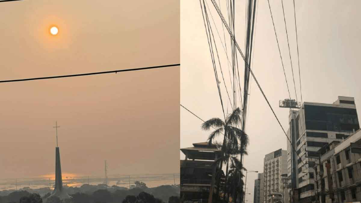 FreebieMNL - LOOK: Metro Manila's gray skies not caused by 'vog,' but by 'human activities'