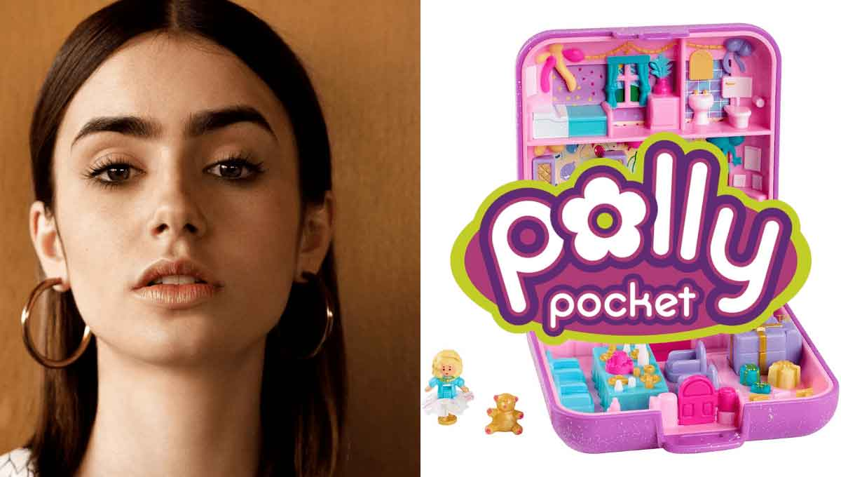 FreebieMNL - Lily Collins to Star as Polly Pocket in Upcoming Live-Action Film