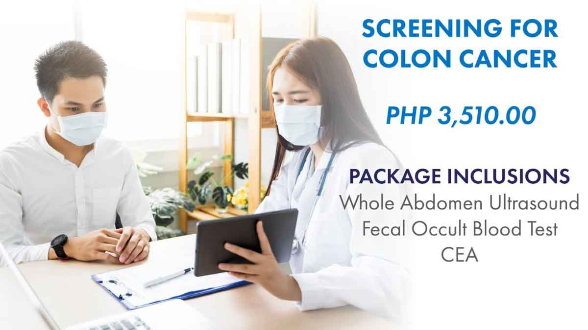 FreebieMNL - You can get screened for colon cancer affordably through Aventus