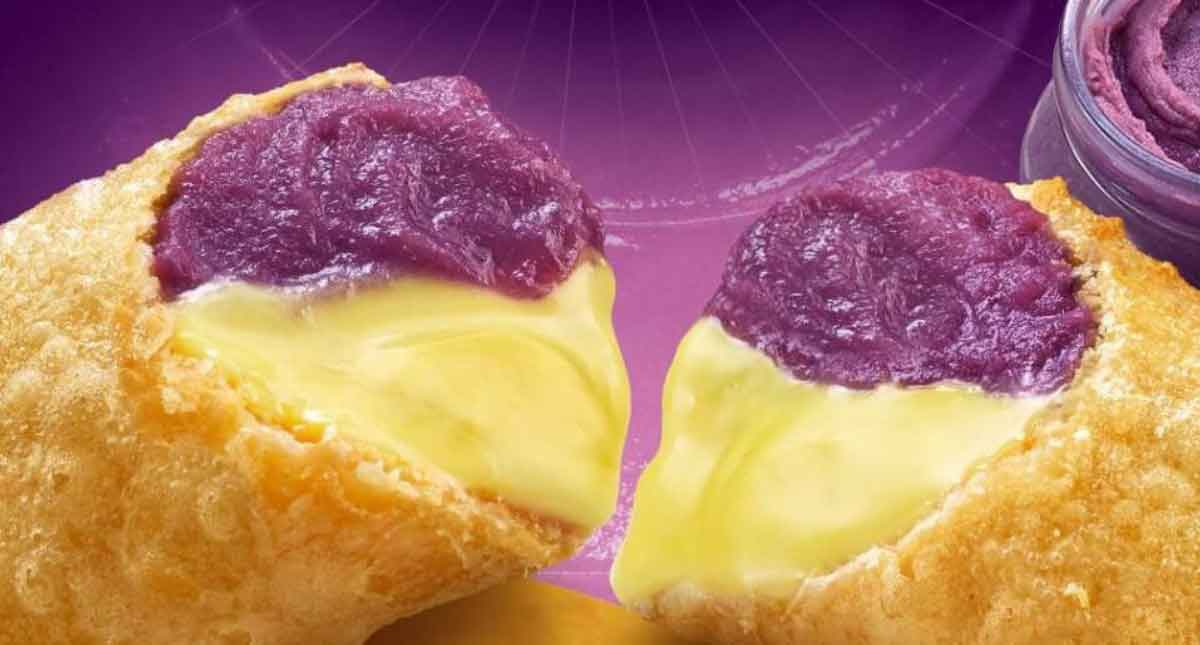 FreebieMNL - Jollibee finally joins the popular food trend with the new Ube Cheese Pie