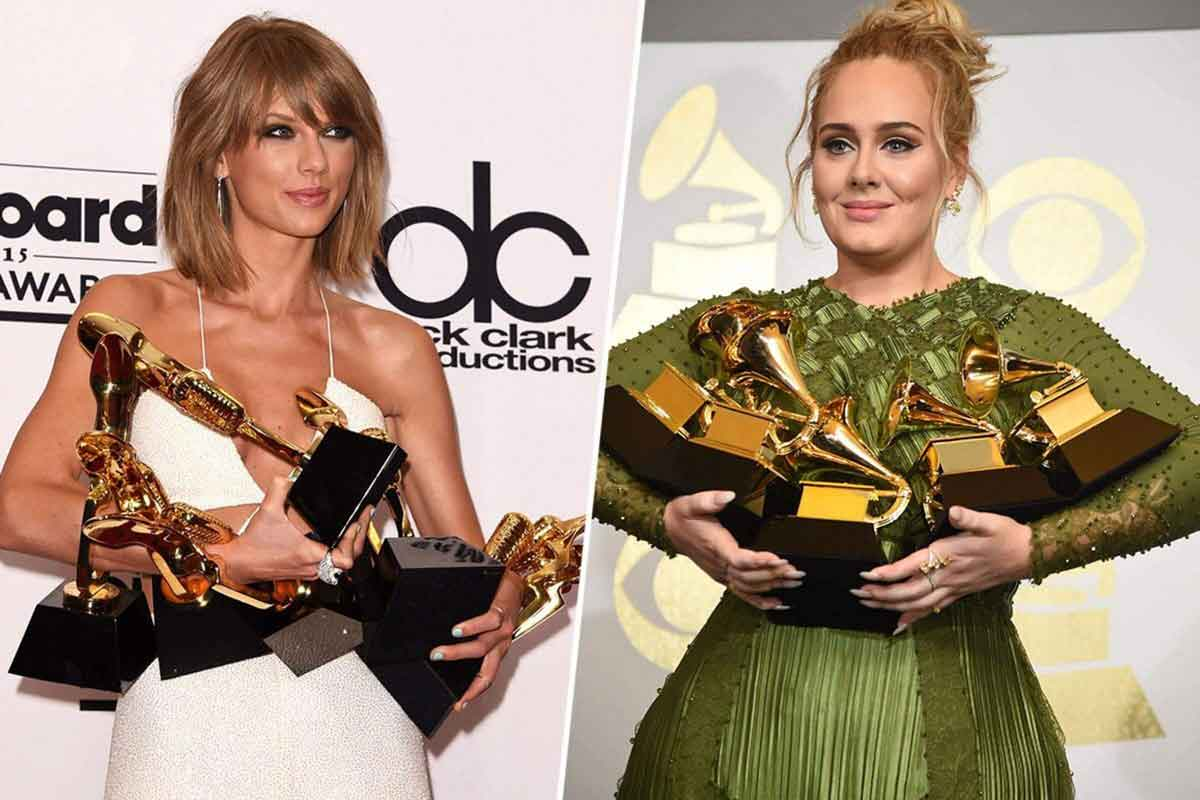 FreebieMNL - Taylor Swift and Adele rumored to release a co-written song